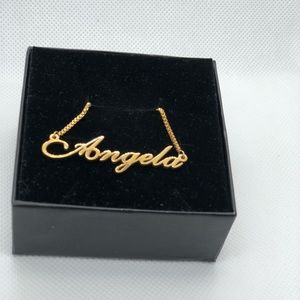 Jewelry - 14K Gold Plated Necklace - Angela